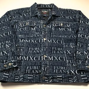 Fubu Jeans 3XL Denim Jacket MCMXCII
